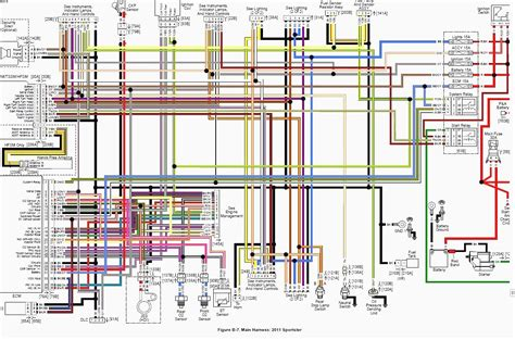 Engine Schematic 1996 Harley Ultra by Wire Harness Diagram For Ultra Classic Wiring Diagram