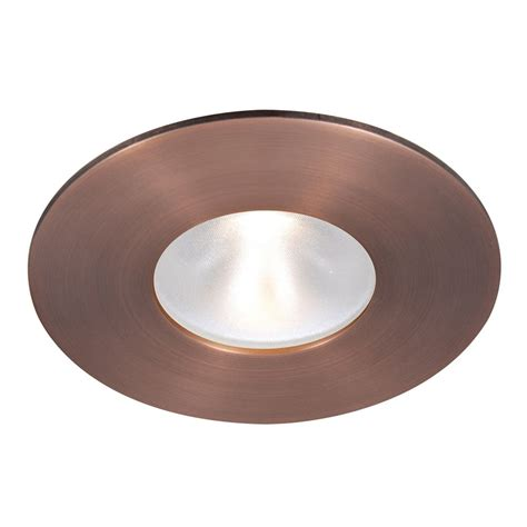 Wac Lighting 2 Quot Round Reflector Copper Bronze Led Recessed