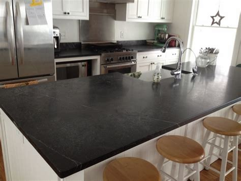 Soapstone Countertop Maintenance by Soapstone Countertops A Rock That Transforms The