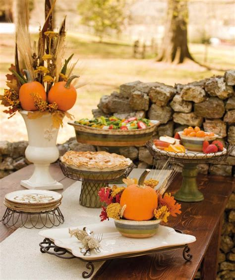 thanksgiving outdoor table decorations autumn vanilla picture autumn tablescapes