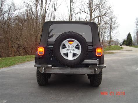 homemade jeep rear bumper homemade rear bumper page 4 jk forum com the top