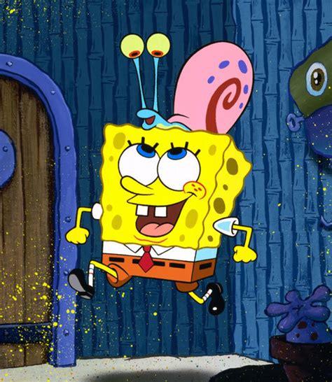 spongebob  gary spongebob squarepants photo