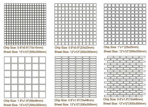 natural stone mosaic tiles floor tiles standard size