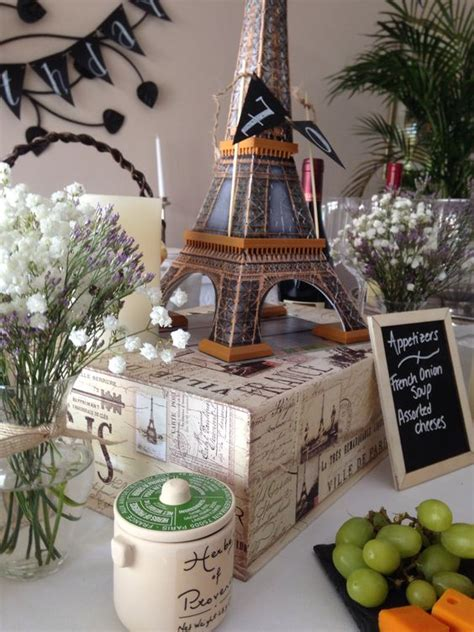 17 Best Images About French Themed Dinner Party French