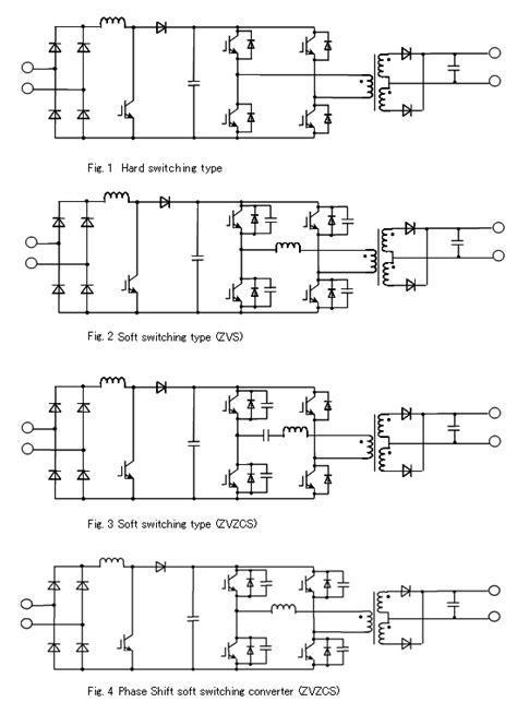 inverter type welding machine circuit diagram circuit power semiconductors introduction to semiconductors