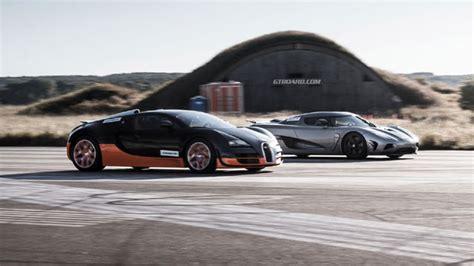 Bugatti Veyron Grand Sport Vitesse Vs Koenigsegg Agera R