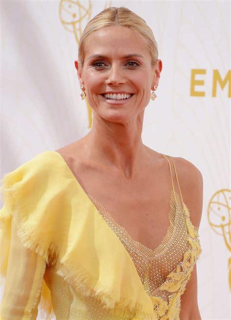 Heidi Klum Annual Primetime Emmy Awards Celeb Donut