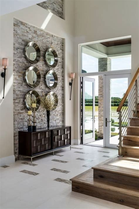double height wall decoration   mirror wall decor