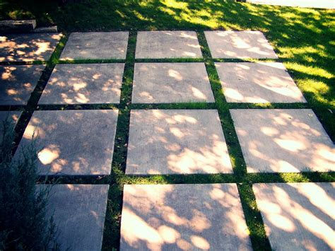 concrete patio squares ideas or thoughts