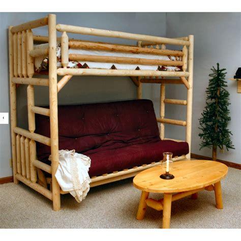futon bunk beds lakeland mills futon bunk bed wayfair