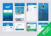 Free UI set for app design - Freebiesbug