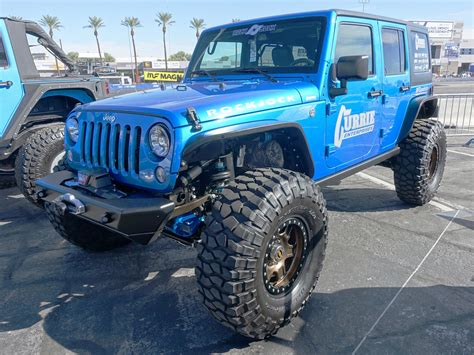 sema jeep yj every jeep on the front lot at sema show 2017 quadratec