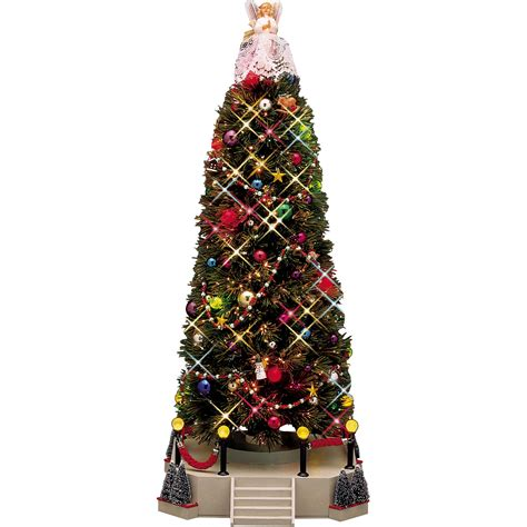 lemax village collection musical christmas tree seasonal