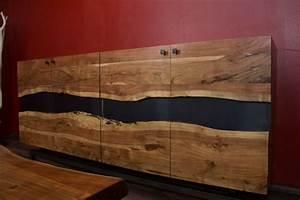 Highboard Holz : designer highboard im modernen landhausstil aus suar holz ~ Pilothousefishingboats.com Haus und Dekorationen