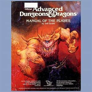 Ad U0026d Advanced Dungeons And Dragons Manual Of The Planes