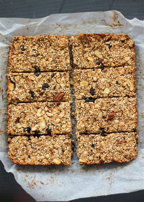 check  chia quinoa banana granola bars   easy