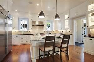 White, Shaker, Style, Farmhouse, Kitchen