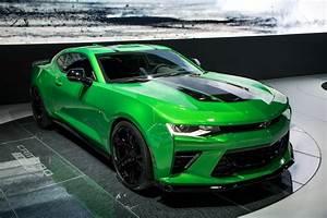 Chevrolet Camaro Track Concept Comes With Enhanced Track ...