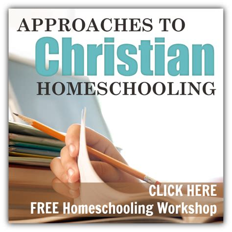 Unlock The Approaches To Christian Homeschooling  Pinterest  Christian, Homeschool And School