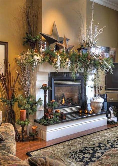 magical christmas mantelpiece decorations