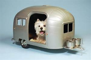 Your pet can have their own little airstream when you go for Airstream dog house