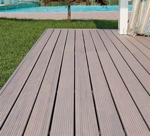 Pavimento in legno per esterni Tanne, Pircher GiardinoIdea