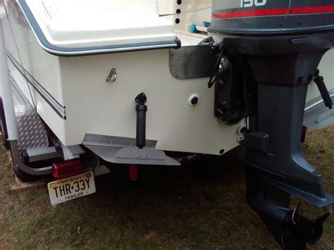 Trim Tabs On Boat by Swim Ladder With Trim Tabs The Hull Boating And