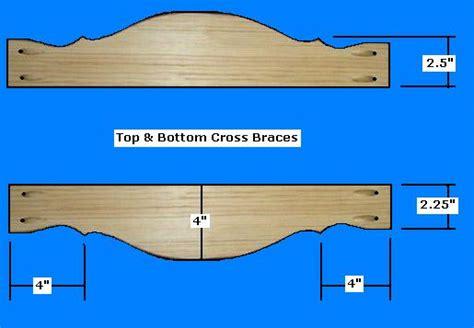 printable gun rack template pdf diy gun rack template harvest table plans lowes woodguides