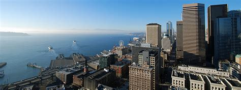 Smith Tower Observation Deck by Smith Tower Observation Deck And Room In Seattle