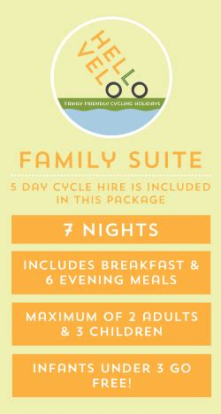 booking chambre d hote family suite bike hire hello vélo