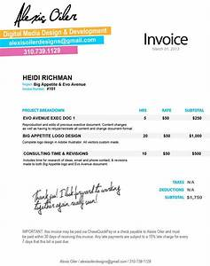 24 best design invoices images on pinterest invoice With web design invoice template