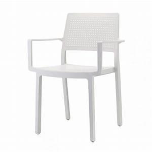 Kunststoff Stühle Stapelbar : stuhl mit armlehne indoor outdoor wei aus kunststoff stapelbar ~ Indierocktalk.com Haus und Dekorationen