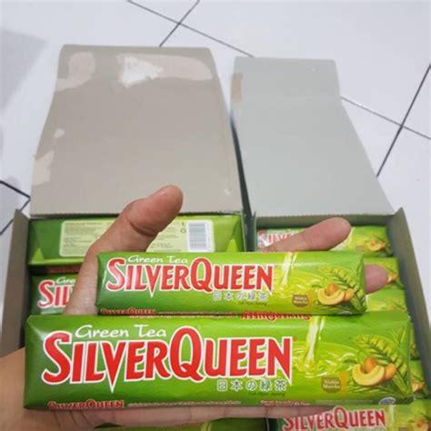 coklat cokelat silver queen silverqueen green tea matcha