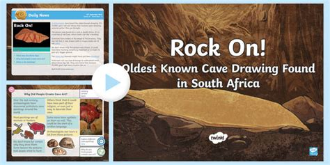 * New * Lks2 Oldest Cave Drawing Found Daily News Powerpoint