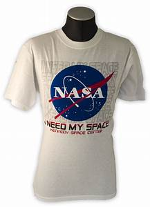 NASA - I Need My Space T-Shirt Adult Extra Large XL