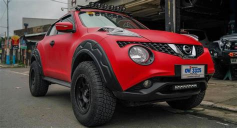 Nissan Juke Transformed Into A Cute Little Offroad