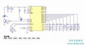25 In 1 Lc7461 Tv Remote Control Circuit Diagram Nt6613 - Automotive Circuit