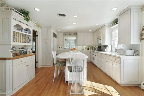 white kitchen light floors 32 spectacular white kitchens with honey and light wood 1391