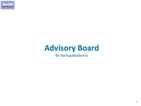 advisory board dla startupow