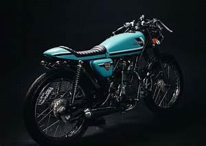 Honda Cg125 Cafe Racer By Fernando Casado  U2013 Bikebound