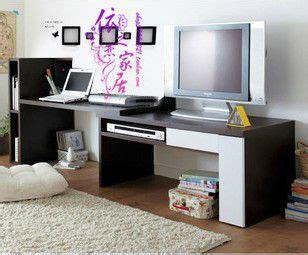 tv  desk combo decor desk tv stand guest room