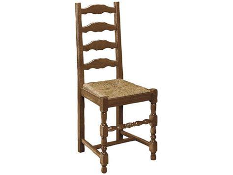 chaise en h 234 tre massif avec assise en paille positano