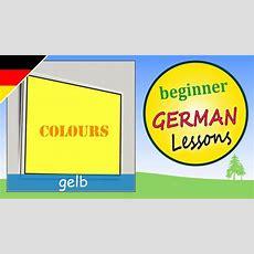 Colors In German  Beginner German Lessons For Children Youtube