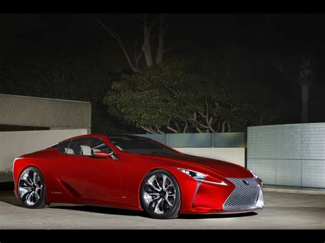 2018 Lexus Lf Lc Hybrid Sport Coupe Concept Front And