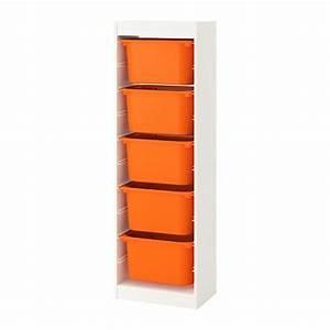 Spielzeug Aufbewahrung Ikea : trofast aufbewahrung mit boxen wei orange ikea ~ Michelbontemps.com Haus und Dekorationen