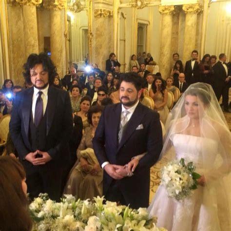anna netrebko  yusif eyvazovs wedding arabia weddings