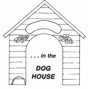 House black and white dog house clipart images - WikiClipArt