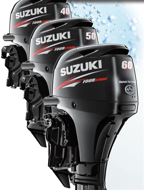 Suzuki 50 Hp Outboard by Four Stroke Electronic Fuel Injection Suzuki Df40a Df50a