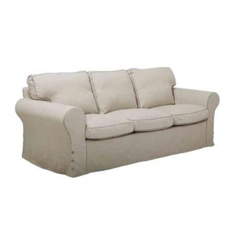 housse de canapé avec accoudoir en bois canapé 3 places ektorp ikea accoudoir pin massif et
