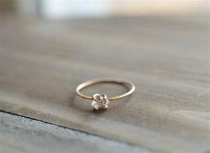 Herkimer ring tiny herkimer diamond quartz engagement for Tiny wedding ring